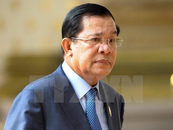 Cambodian Prime Minister starts Vietnam visit hinh anh 1