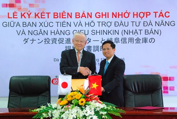 Da Nang, Japanese bank ink agreement hinh anh 1