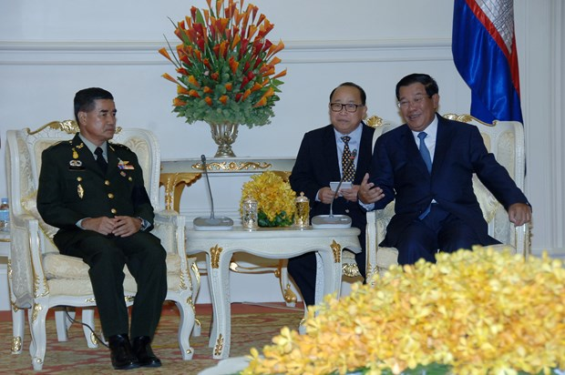 Thailand, Cambodia bolster military cooperation hinh anh 1