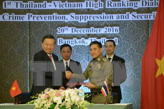 Vietnam, Thailand hold first security dialogue hinh anh 1