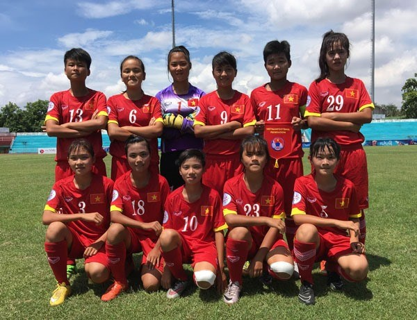 Vietnam in Group A of AFF U15 football event hinh anh 1