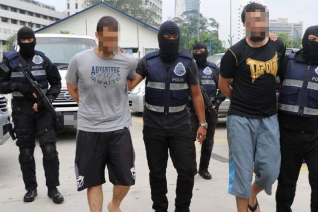 Malaysian police arrest seven for suspected IS links hinh anh 1