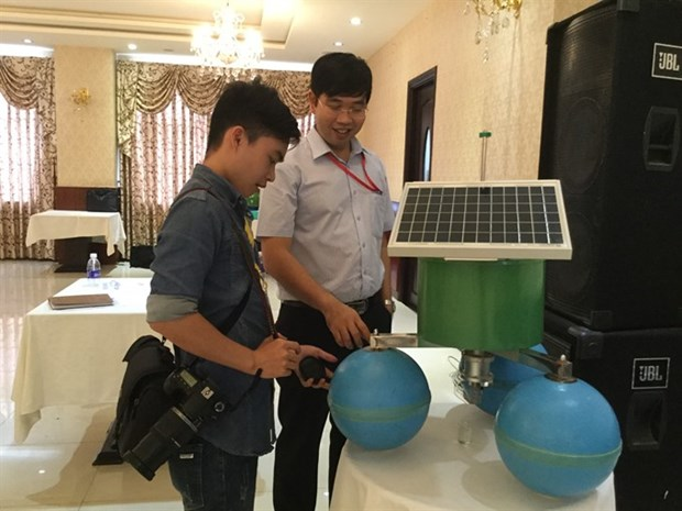 Nanotech institute develops automatic salinity monitoring hinh anh 1