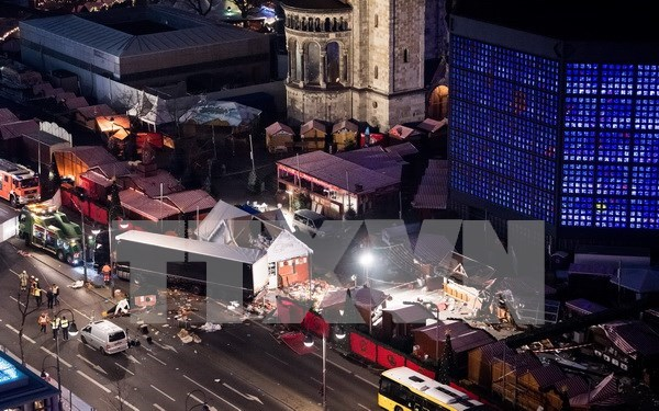 Condolences sent to Germany on losses in Berlin truck attack hinh anh 1