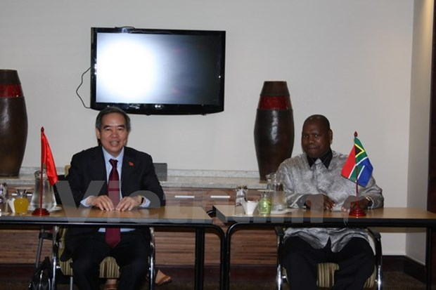 South Africa appreciates ties with Vietnam hinh anh 1