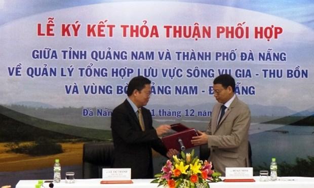 Vu Gia-Thu Bon river deal signed hinh anh 1