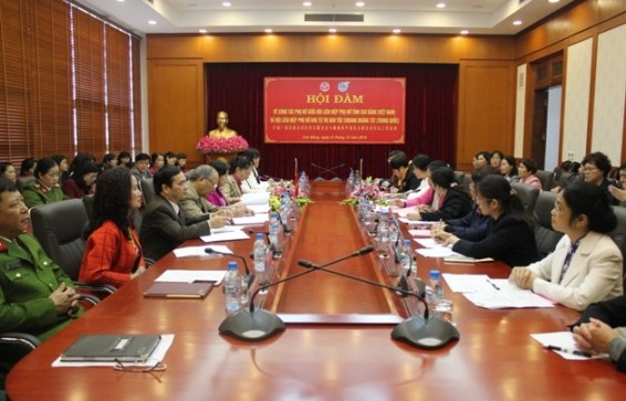Vietnamese, Chinese women's associations reinforce ties hinh anh 1
