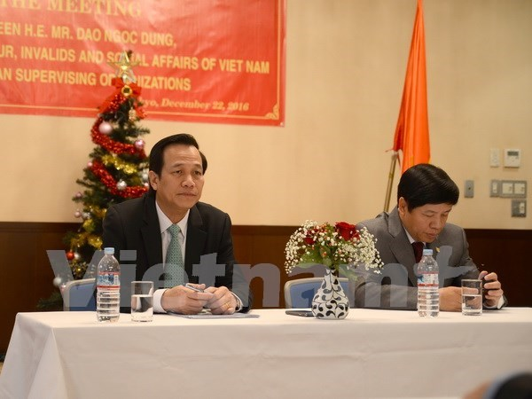 Vietnam, Japan seek new areas in labour cooperation hinh anh 1