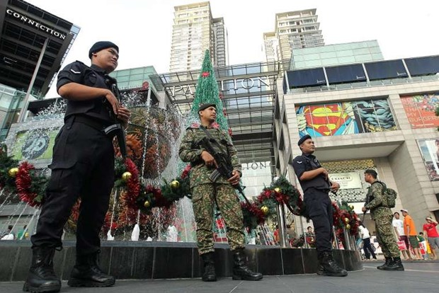Malaysia tightens security at year-end hinh anh 1