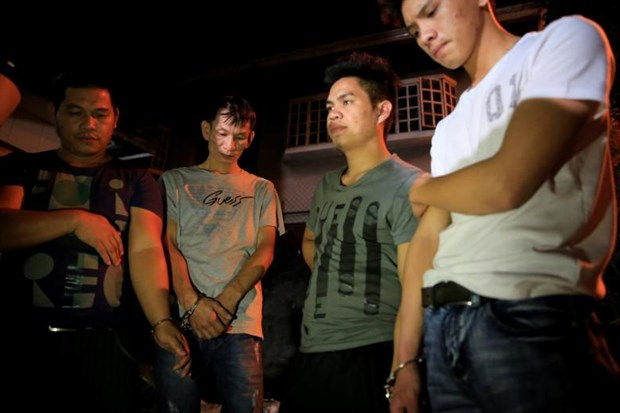 Philippine police arrest six people in massive meth seizure hinh anh 1