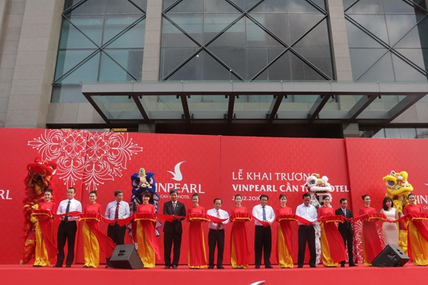 Tallest building in Mekong Delta inaugurated hinh anh 1