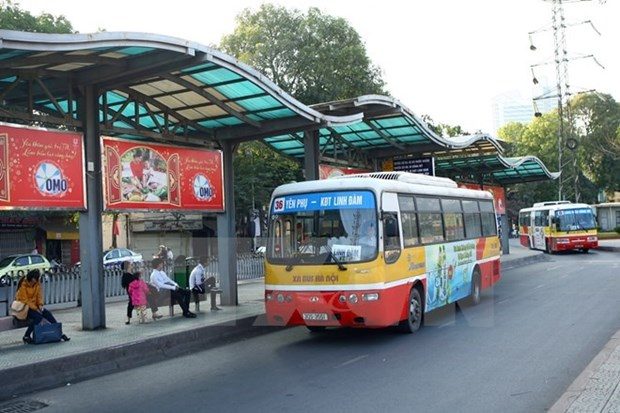Hanoi's bus route change starts January 2 hinh anh 1