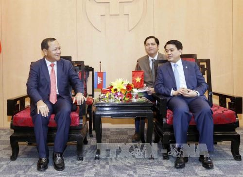 Hanoi, Phnom Penh redouble all-round cooperation hinh anh 1