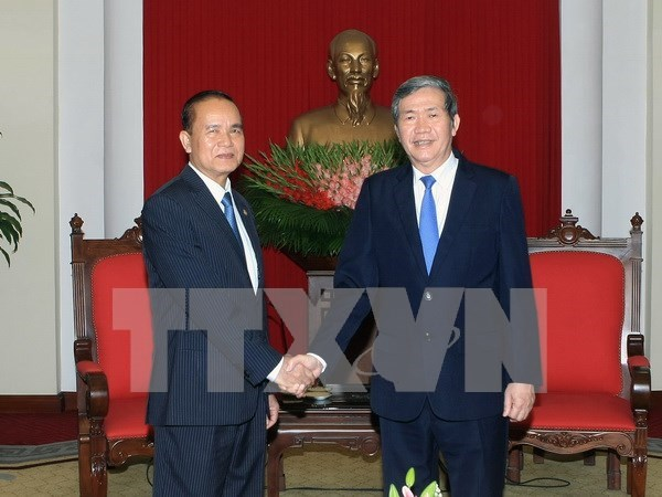 Cambodian Party official suggests continuous cooperation with Vietnam hinh anh 1