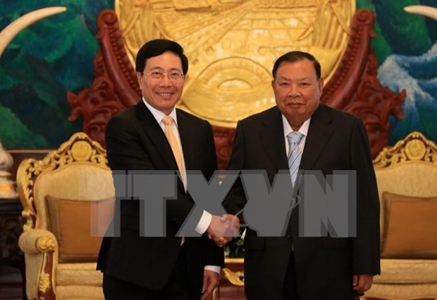 Vietnam's Foreign Ministry to keep close ties with Lao counterpart hinh anh 1