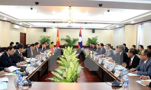 Vietnam's Foreign Ministry to keep close ties with Lao counterpart hinh anh 2