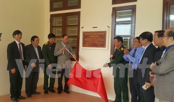 Agent Orange victims have first cultural house hinh anh 1