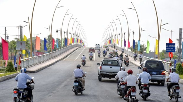 Biggest Bac Lieu – Ca Mau bridge starts operational hinh anh 1