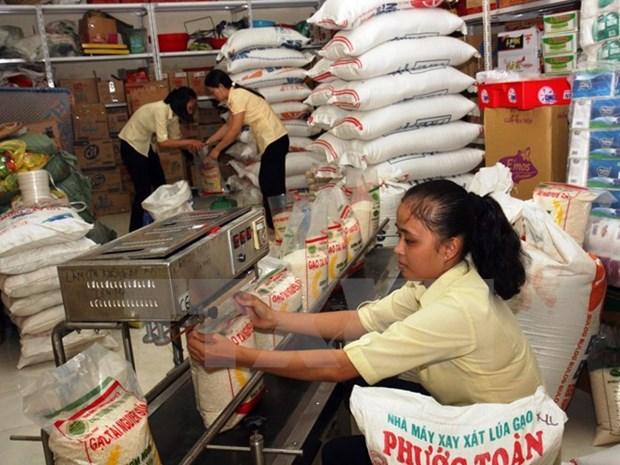 Vietnamese firms eligible to export rice to China announced hinh anh 1
