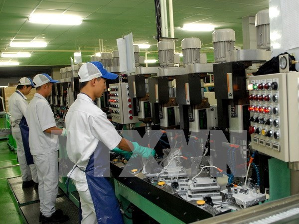 Vinh Long's industrial production targets 12 percent growth in 2017 hinh anh 1