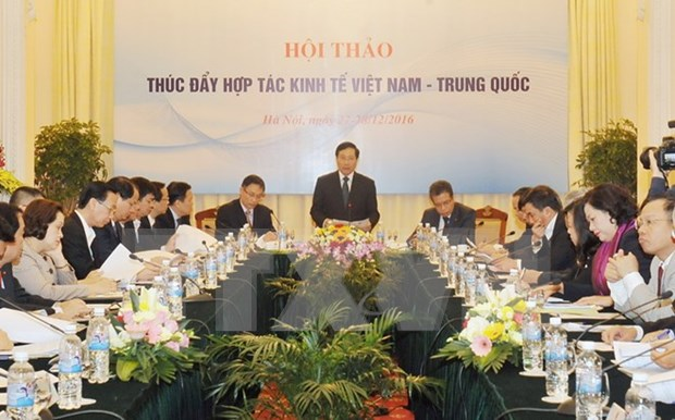 Workshop aims to fuel Vietnam-China economic cooperation hinh anh 1