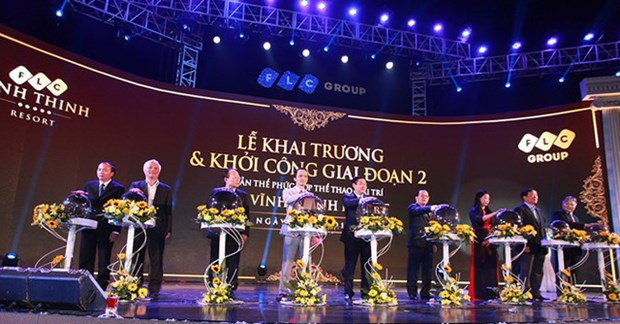 FLC Group to launch 1.1 billion USD project in Vinh Phuc hinh anh 1