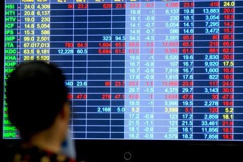 Stocks mixed, trading liquidity moderate hinh anh 1