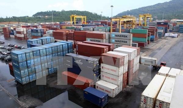 Da Nang Port handles first tonne of cargo of 2017 hinh anh 1