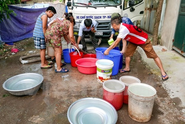 2.5 million people in Hanoi lack clean water hinh anh 1