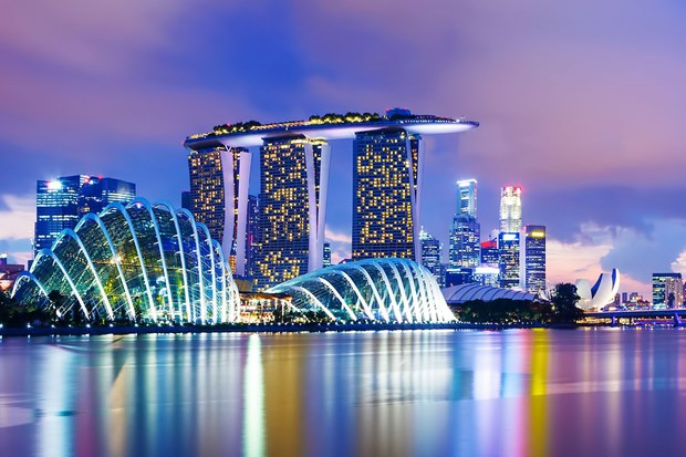 Singapore's economy grows over 1 percent in 2016 hinh anh 1