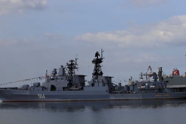 Russian naval ships visit Philippines hinh anh 1