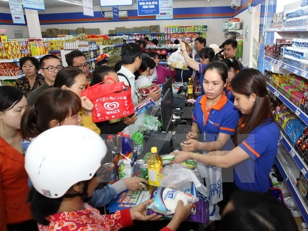 Trade ministry strives to meet surging demand during Tet hinh anh 1