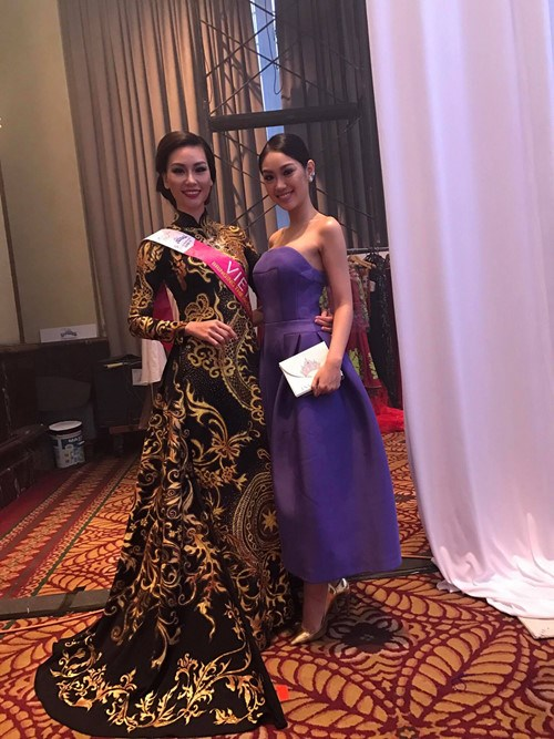 Vietnamese beauty wins best costume at Miss Tourism International hinh anh 1