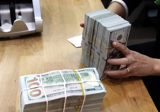 Reference exchange rate rises by 4 VND hinh anh 1
