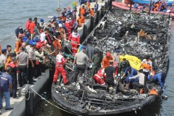 Indonesian police arrest ferry captain over fatal fire hinh anh 1
