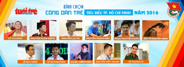 HCM City honours outstanding young citizens hinh anh 1