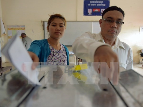 Cambodia announces first list of registered voters hinh anh 1