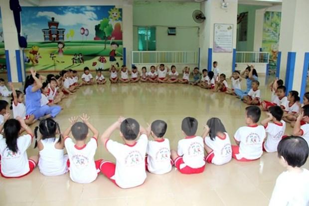Dak Lak fulfils universal preschool education for five-year-old kids hinh anh 1