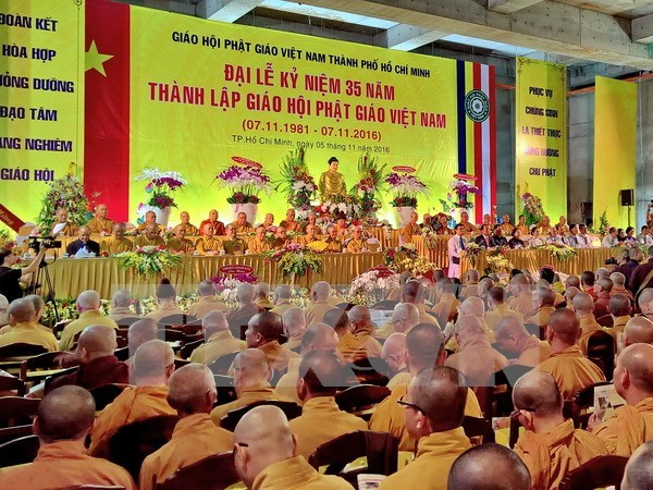 Vietnam Buddhist Sangha gains good outcomes in 2016 hinh anh 1