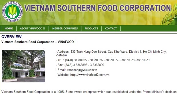 Gov't to own half of Vinafood II stake after equitisation hinh anh 1