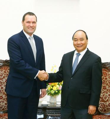Prime Minister bids farewell to outgoing Czech Ambassador hinh anh 1