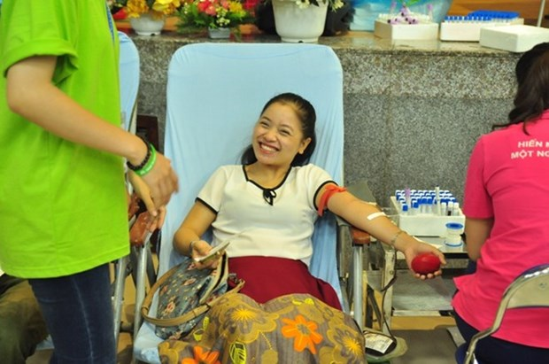Sunday blood donation events held in 25 provinces, cities hinh anh 1