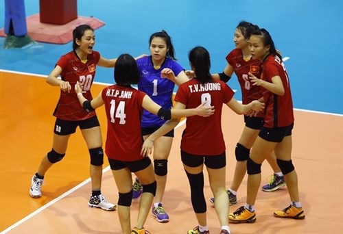 Junior women volleyballers are No 18 in the world hinh anh 1