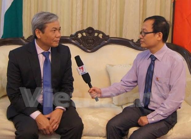 Vietnam-India ties eye bright future: ambassador hinh anh 1