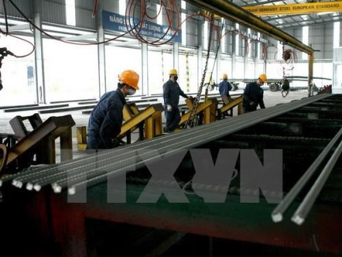 Vietnam produces 17.5 million tonnes of steel in 2016 hinh anh 1