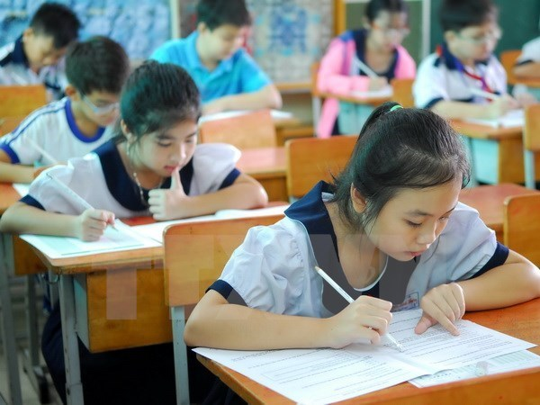 Int'l Kangaroo Math Contest launched in Vietnam hinh anh 1