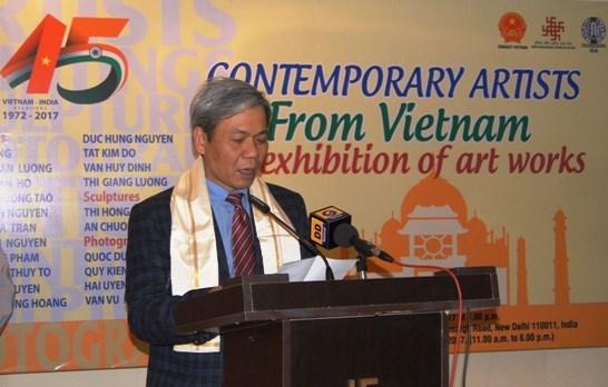 Vietnamese contemporary photos exhibited in India hinh anh 1