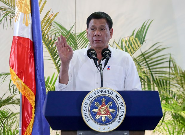 Most Filipinos maintain trust in President Duterte hinh anh 1