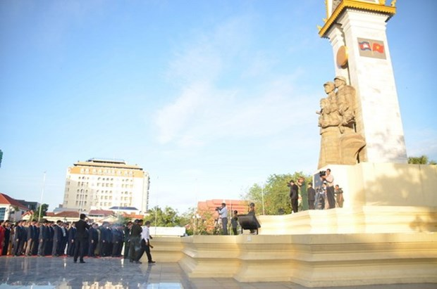 Ceremony marks 38th anniversary of victory over genocidal regime hinh anh 1