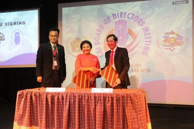 ASEAN journalist community boosts cooperation hinh anh 1